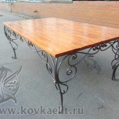 Кованый стол и стулья КСС_29