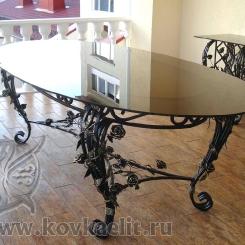 Кованый стол и стулья КСС_31