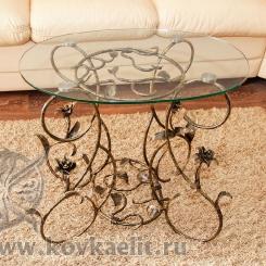 Кованый стол и стулья КСС_39