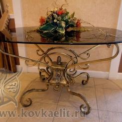 Кованый стол и стулья КСС_41