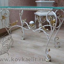 Кованый стол и стулья КСС_42