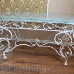 Кованый стол и стулья КСС_43