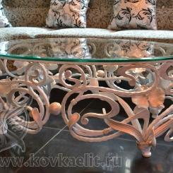 Кованый стол и стулья КСС_44