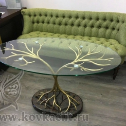 Кованый стол и стулья КСС_45