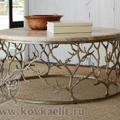 Кованый стол и стулья КСС_46