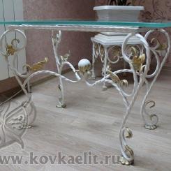 Кованый стол и стулья КСС_5