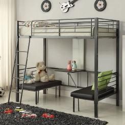 Кованая кровать LOFT_21