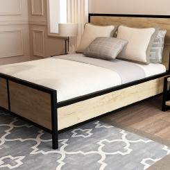 Кованая кровать LOFT_10