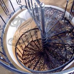 Кованая лестница КЛ__72