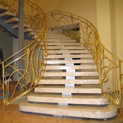 Кованая лестница КЛ__79