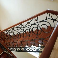 Кованая лестница КЛ__83