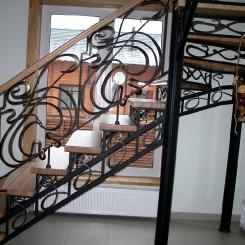 Кованая лестница КЛ__87