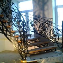 Кованая лестница КЛ__92