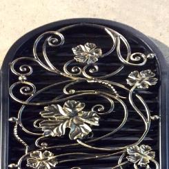 Кованая решетка листья КР_21