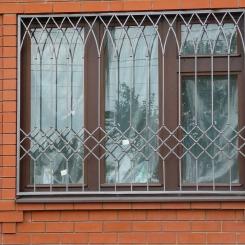 Кованые решетки на окна КР_101