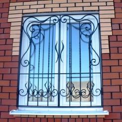 Кованые решетки на окна КР_102
