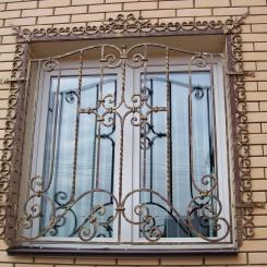 Кованые решетки на окна КР_103