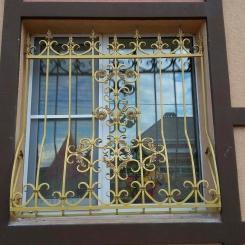 Кованые решетки на окна КР_104