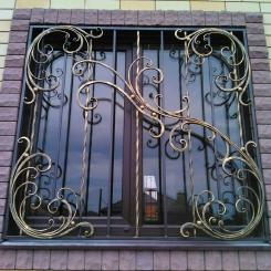 Кованые решетки на окна КР_105