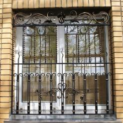 Кованые решетки на окна КР_107