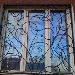 Кованые решетки на окна КР_109