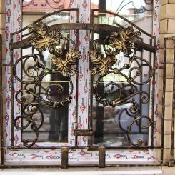 Кованые решетки на окна КР_110