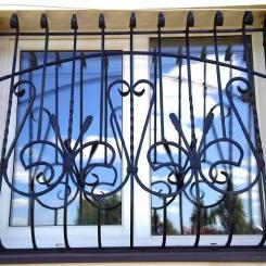 Кованые решетки на окна КР_113