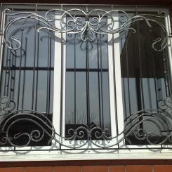Кованые решетки на окна КР_114