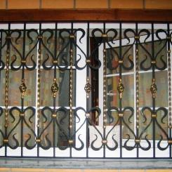 Кованые решетки на окна КР_116