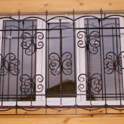 Кованые решетки на окна КР_119
