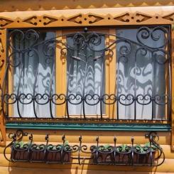 Кованые решетки на окна КР_125