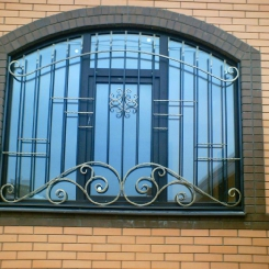 Кованые решетки на окна КР_126