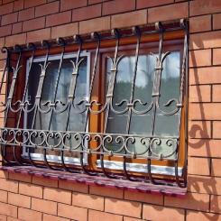 Кованые решетки на окна КР_129