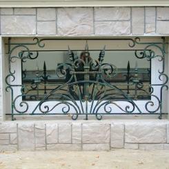 Кованые решетки на окна КР_138