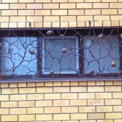 Кованые решетки на окна КР_143