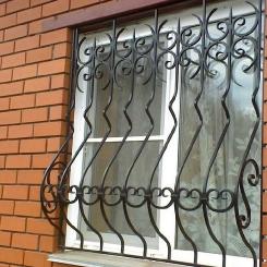 Кованые решетки на окна КР_29