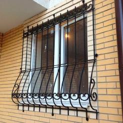 Кованые решетки на окна КР_31