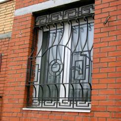 Кованые решетки на окна КР_32