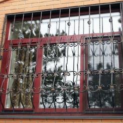 Кованые решетки на окна КР_33