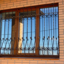 Кованые решетки на окна КР_34