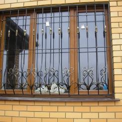 Кованые решетки на окна КР_35