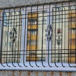 Кованые решетки на окна КР_38