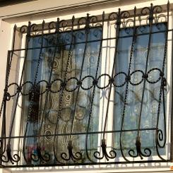Кованые решетки на окна КР_40