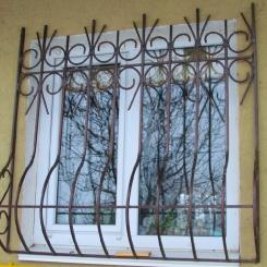 Кованые решетки на окна КР_44