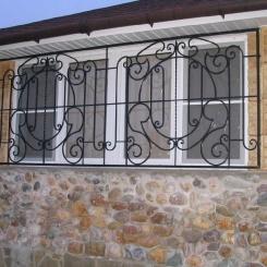 Кованые решетки на окна КР_48