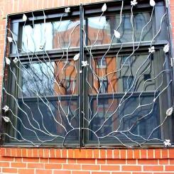 Кованые решетки на окна КР_51