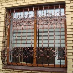 Кованые решетки на окна КР_53