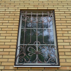 Кованые решетки на окна КР_59