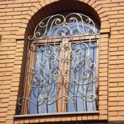 Кованые решетки на окна КР_61