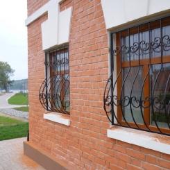 Кованые решетки на окна КР_65